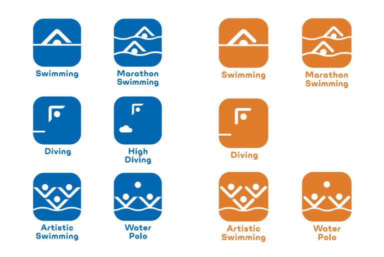 世界水泳2020ピクト